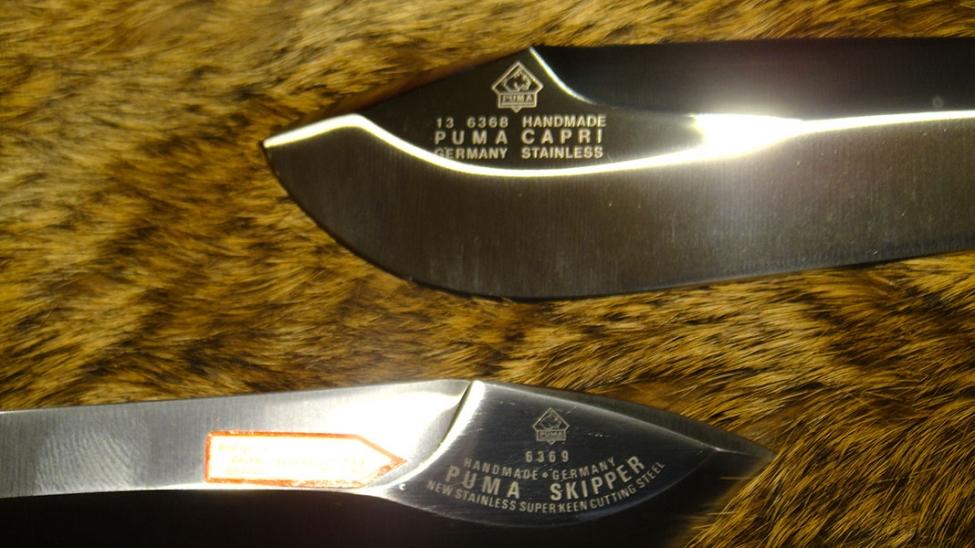 Capri Classic Puma Knives