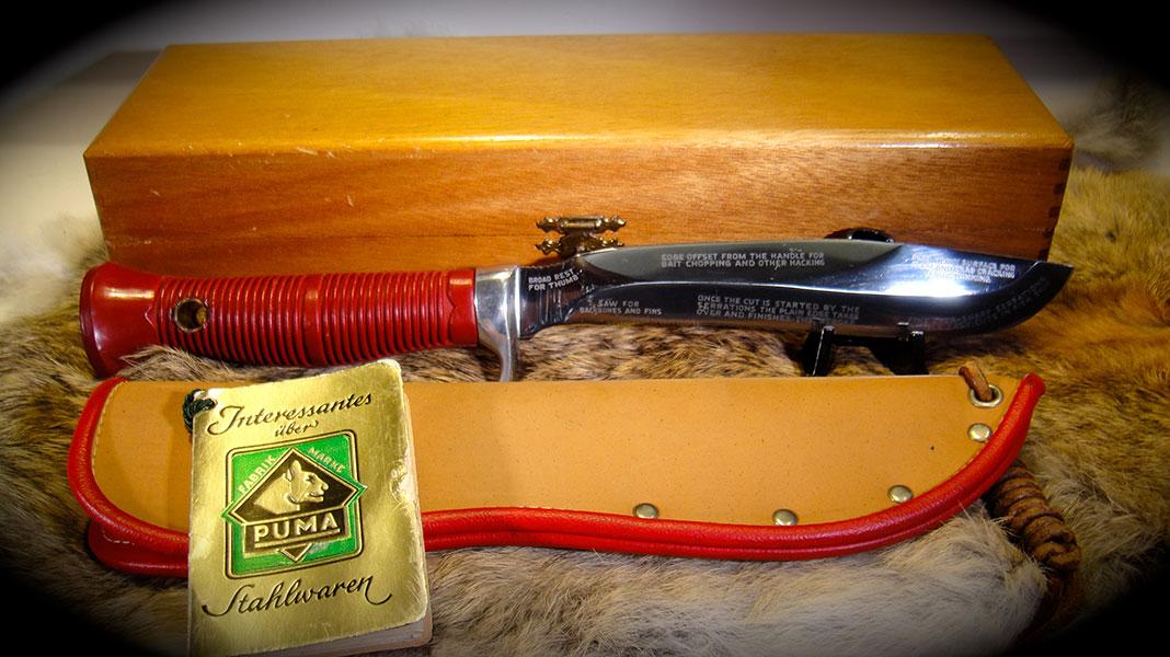 Sea Hunter Classic Puma Knives